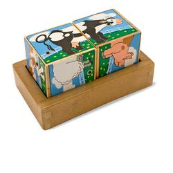Melissa & Doug 1196 Farm Sound Blocks