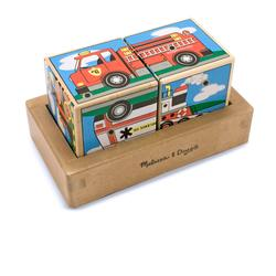 Melissa & Doug 1272 Vehicles Sound Blocks