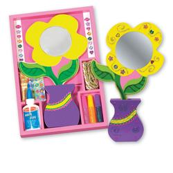 Melissa & Doug 2354 Flower Mirror - DYO
