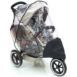 Phil & Teds SPSD Stormy Weather Cover For Sport and Classic Double Stroller