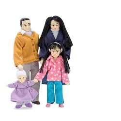 Melissa & Doug 2688 Victorian Doll Family (Asian)