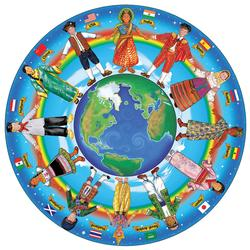Melissa & Doug 2866 Children Around the World Floor (48 pc)