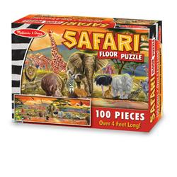 Melissa & Doug 2873 Safari Floor Puzzle Floor (100 pc)