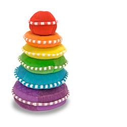 Melissa & Doug 3066 Plush Rainbow Stacker