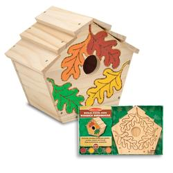 Melissa & Doug 3101 Build-Your-Own Wooden Birdhouse