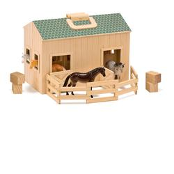 Melissa & Doug 3704 Fold & Go Mini Stable