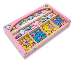 Melissa & Doug 4262 Playful Pals Wooden Bead Set