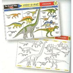 Melissa & Doug 5027 Dinosaurs Color-A-Mat (Bundle of 6)