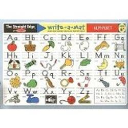 Melissa & Doug 5028 Alphabet Write-A-Mat (Bundle of 6)