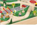 KidKraft 17310 4 Straight Track - Box of 12 - Train Depot Refill