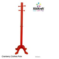KidKraft 19252 Clothes Pole,Cranberry