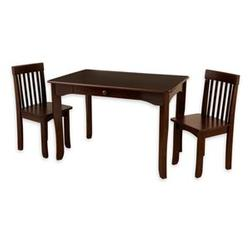 KidKraft 26651 Avalon Table and 2 Chair Set, Espresso