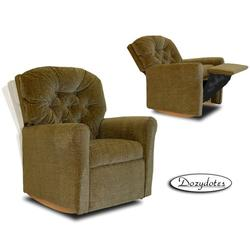 Dozydotes 10720 Classic Rocker Childrens Recliner - Hot Chocolate