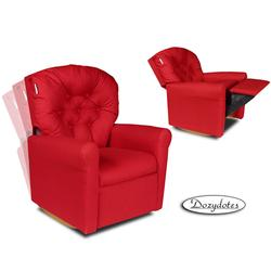 Dozydotes 10712 Classic Rocker Childrens Recliner - Rocket Red