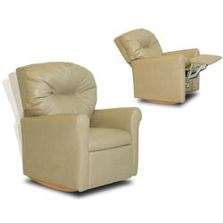 Dozydotes 10726 Contemporary Childrens Rocker Recliner - Beige