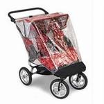 Baby Jogger 50402 Rain Cover for City Elite Double Jogging Strollers