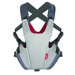 Phil and Teds CP711V2 Pepe Front Carrier - Grey/Red