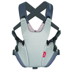 Phil and Teds CP711SV2 Pepe Front Carrier - Grey/Red Stripe