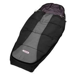 Phil and Teds E3SB5 Snuggle & Snooze Sleeping Bag - Black/Charcoal
