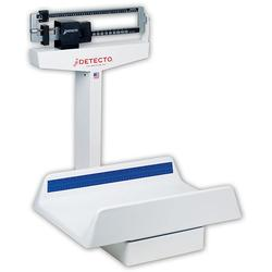 Detecto 459 Mechanical Pediatric Scale,40 IbX.5oz/17.5kgX0.01kg