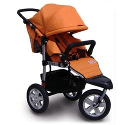 Tike Tech TT-2622 CityX3 Swivel Single Jogging Stroller - Autumn Orange