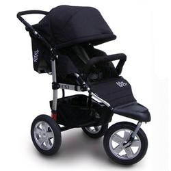 Tike Tech TT-2623 CityX3 Swivel Single Jogging Stroller - Classic Black