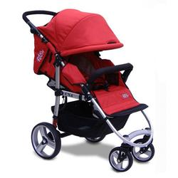Tike Tech TT-1866 CityX4 Single Stroller - Alpine Red