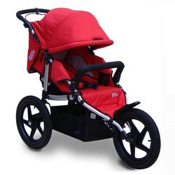 Tike Tech TT-8185 All Terrain X3 SPORT Single Jogging Stroller - Alpine Red