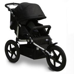 Tike Tech TT-8187 All Terrain X3 SPORT Single Jogging Stroller - Classic Black