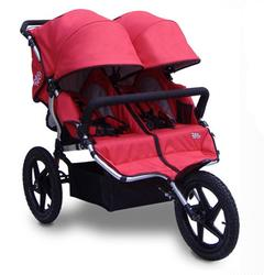 Tike Tech TT-4625 All Terrain X3 SPORT Double Jogging Stroller - Alpine Red