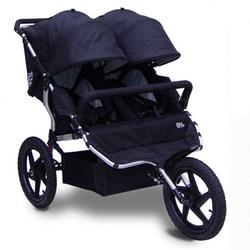 Tike Tech TT-4627 All Terrain X3 SPORT Double Jogging Stroller - Classic Black