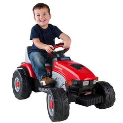 Peg Perego Ride On Toys >> Peg Perego Iged1068 Lil Red Tractor 6 Volt Ride On Toy Coupons