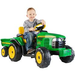 Peg Perego IGOR0040 John Deere Turf Tractor with Trailer - Coupons and  Discounts May be Available