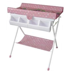 Baby Diego BB020-5 BabySpa Foldable Bathtub and Changer Combo - Pink