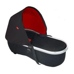 Phil & Teds PNV511 Vibe/Verve Peanut Bassinet, Black/Red