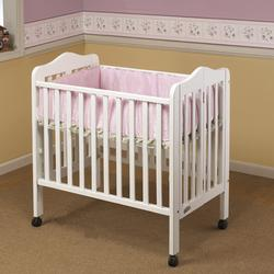 Orbelle 1122W Tina Three Level Portable Crib White