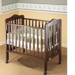 Orbelle 1122C Tina Three Level Portable Crib - Cherry