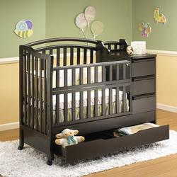 Superbe Orbelle M312ES Crib N Bed Mini (PORTABLE CRIB SIZE)   Espresso