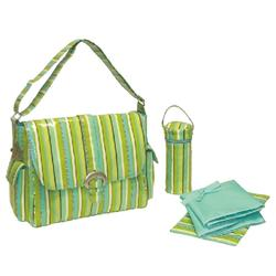 Kalencom 2960 Coated Buckle Bag - Beach Stripes
