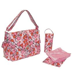Kalencom 2960 Coated Buckle Bag - Flora
