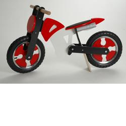Kiddimoto SB-RW-916114 Superbike Red & White
