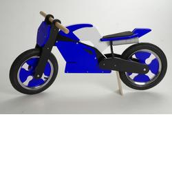 Kiddimoto SB-BWB-916115 Superbike Blue White & Black