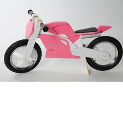 Kiddimoto SB-PW-916106 Superbike Pink & White