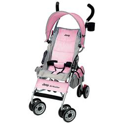 Kolcraft JU008-XIP Jeep All Weather Umbrella Stroller - Ice Pink