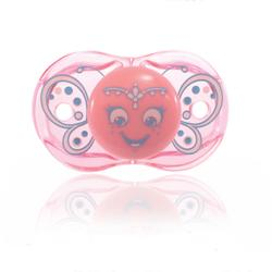 RaZBaby 007PB Keep it Kleen Pacifier - Betty Butterfly