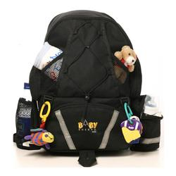 Baby Sherpa 03001 Diaper Backpack - Black
