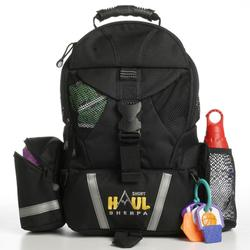 Baby Sherpa 05001 Shorthaul Sherpa Diaper Bag Backpack - Black
