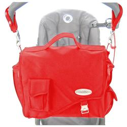 Stroll-Air DB794R Messenger Diaper Bag - Red