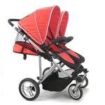Stroll-Air SM54432R My Duo Double Stroller - Red