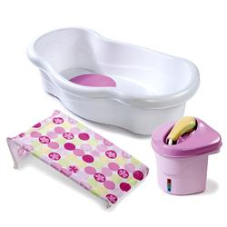 Summer Infant 08295 Newborn to Toddler Bath Center and Shower - Pink
